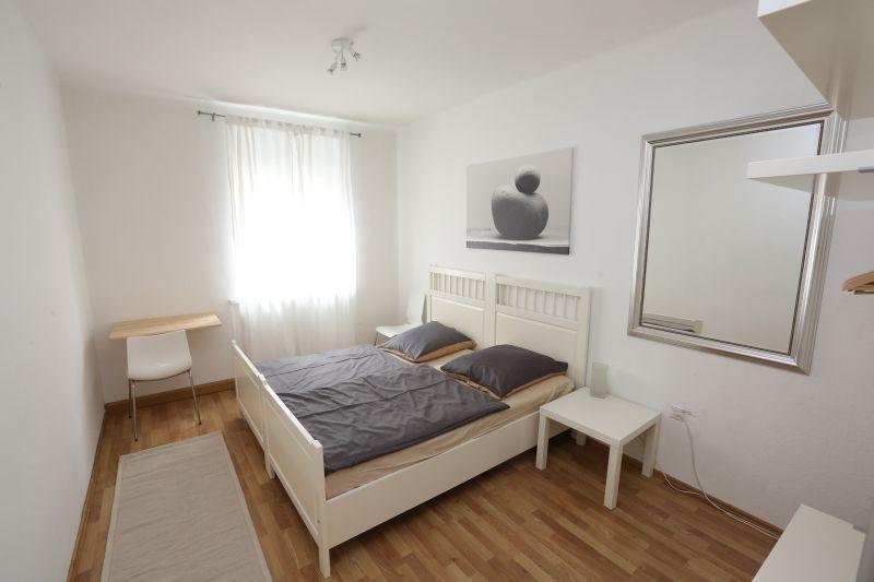 nürnberg: apartments thommen, Schlafzimmer