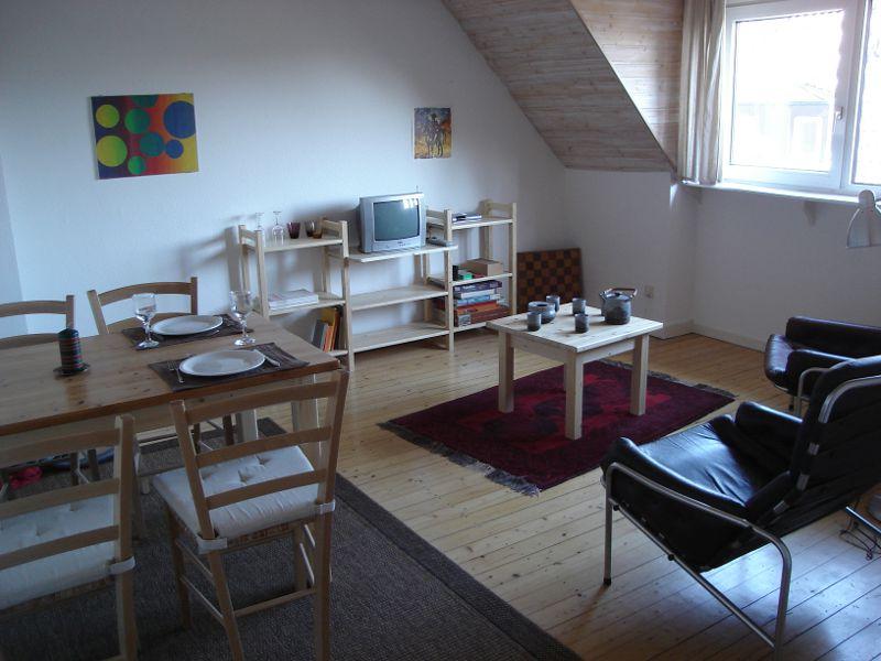 Münster Ferienwohnung Belitz: Wohn  Und Esszimmer